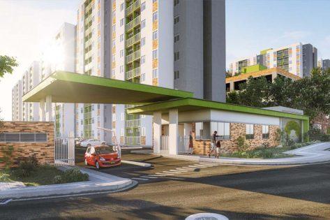 proyectos vis en bucaramanga render porteria ciudadela verde