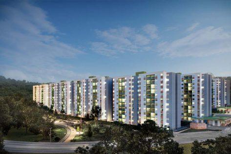proyectos vis en bucaramanga render torres ciudadela verde