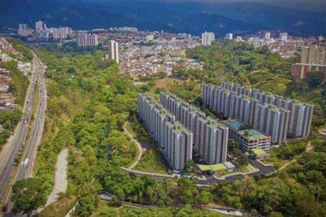 proyectos vis en bucaramanga render vista aerea 2 ciudadela verde